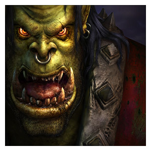 Warcraft and World of Warcraft. Размер: 40 х 40 см